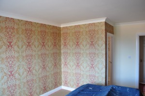 Interior Wallpapering and Coving
