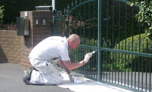 Metalwork and Exterior Painting