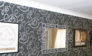 Wallpapering and Coving work