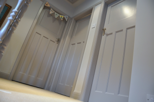 Farrow and Ball Painted Doors