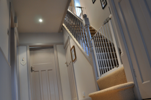 Farrow and Ball Painted Staircase